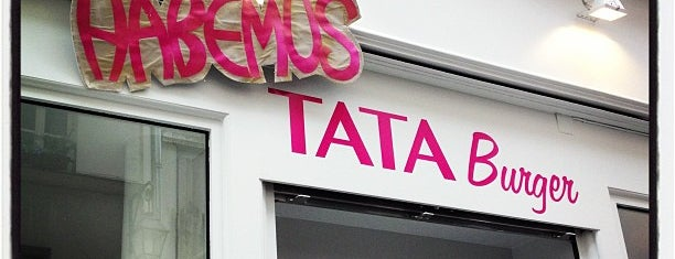 Tata Burger is one of Burgers in Paris.