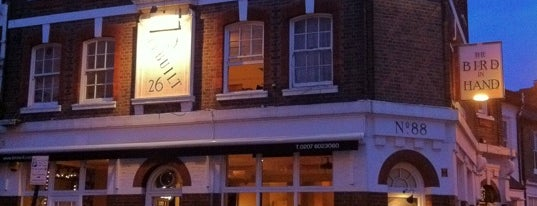 The Bird in Hand is one of The 15 Best Gastropubs in London.