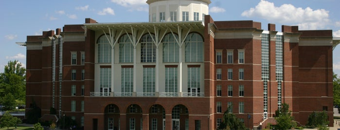 William T. Young Library is one of All of University of Kentucky's Tips.