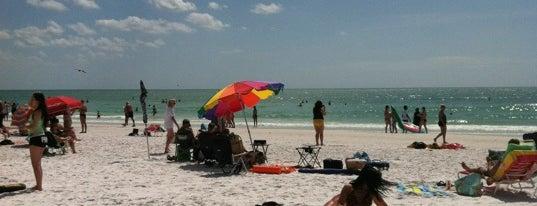 Siesta Beach is one of Sarasota #4sqCities.