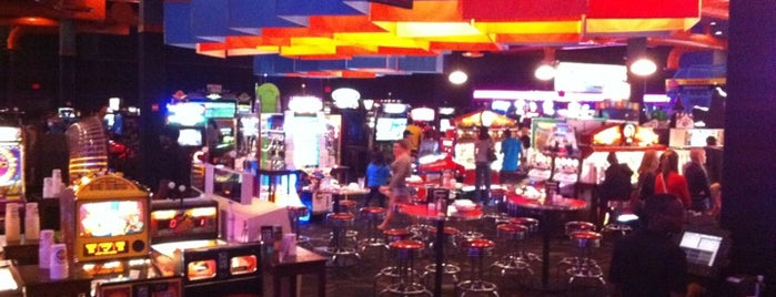 Dave & Buster's is one of Entertainment.