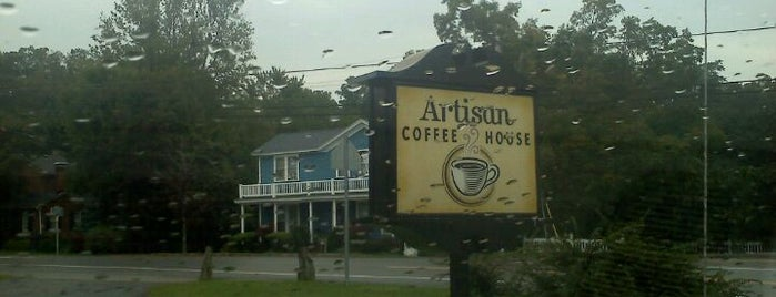 Artisan Coffeehouse is one of Diner, Deli, Cafe, Grille.