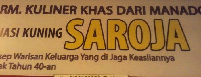RM Nasi Kuning Saroja is one of Top picks for Cafés.