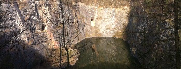 Doly, lomy, jeskyně (CZ)
