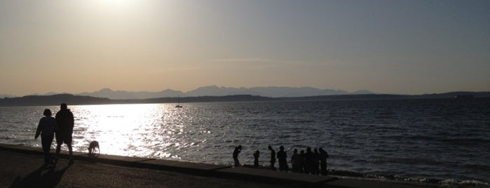 Alki Beach Park is one of Seattle's Best Great Outdoors - 2012.
