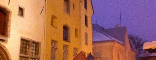 Three Sisters is one of Luxury Hotels in Tallinn.