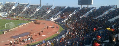 The Olympic Stadium El Menzah | Stade Olympique d'El Menzah | الملعب الأولمبي بالمنزه is one of Tunis  #4sqCities.