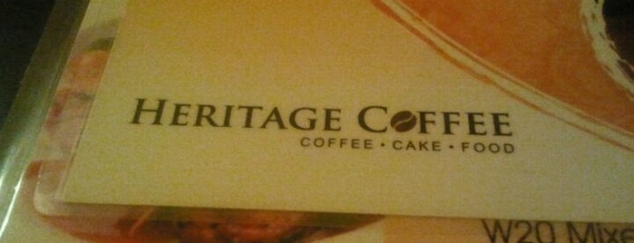 Heritage Coffee is one of Top 10 dinner spots in Pulau Pinang, Malaysia.