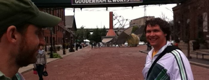 Historic Distillery District is one of Guide to Toronto's GEMS!.