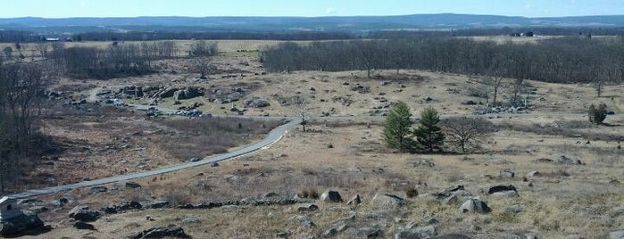 Little Round Top is one of Dan's Places.