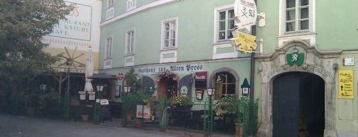 Gasthaus zur Alten Press is one of Food & Fun - Vienna, Graz & Salzburg.