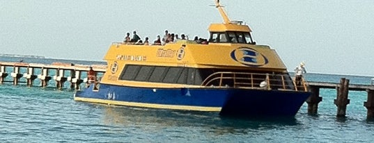 Ultramar Ferry is one of Explore the Mayan Paradise: Cancún #4sqCities.