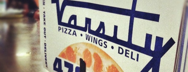 Varsity Pizza is one of surviving syracuse.