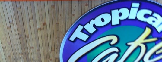 Tropical Smoothie Café is one of Vegetarian and Veggie Friendly.