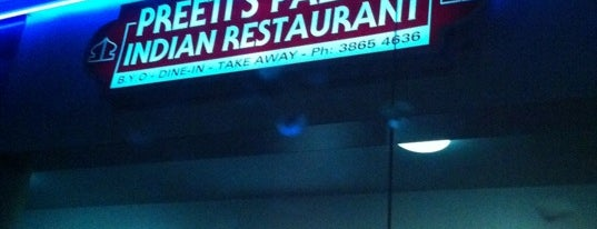 Preeti's Palace is one of Places to eat (near Entertainment Centre).