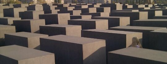 Memorial to the Murdered Jews of Europe is one of Berlin, Germany.