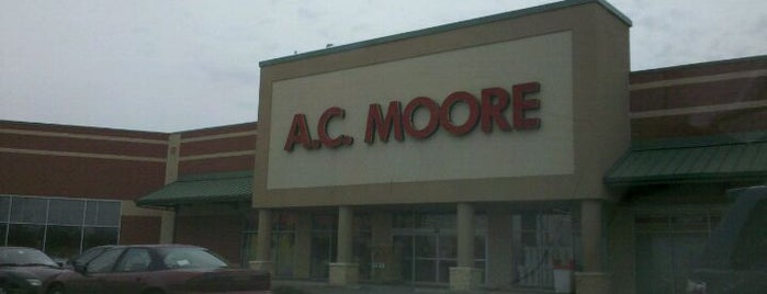 A.C. Moore Arts & Crafts is one of Frequent Places.