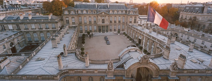 Palais de l'Élysée is one of Paris.