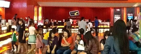 SF Cinema City is one of The Mall Bangkae.