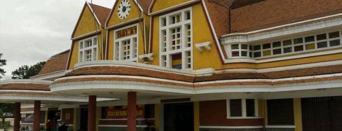 Dalat Train Station is one of Đà Lạt.
