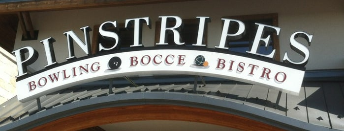 Pinstripes is one of Restaurants.