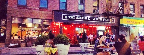 The Smoke Joint is one of Clinton Hill.