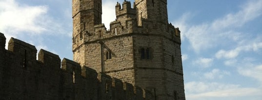 Caernarfon Castle is one of Historic Castles of North Wales.