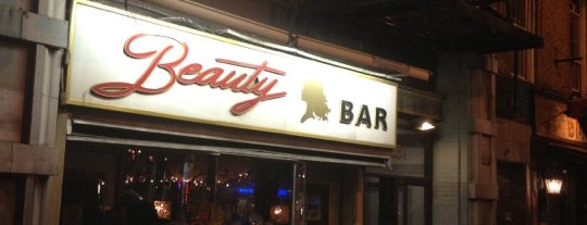 Beauty Bar is one of DOWNTOWN drinks.