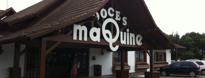 Doces Maquiné is one of Restaurantes.