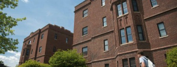 Uhler Hall is one of Residential Hall Tour.