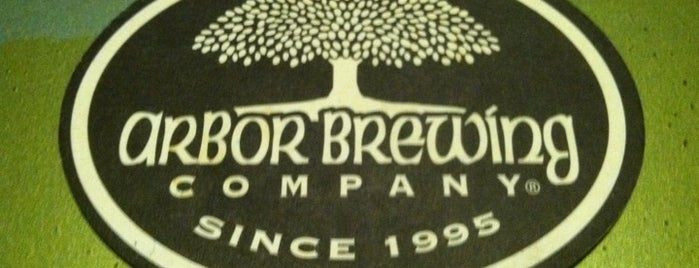 Arbor Brewing Company is one of Michigan Breweries.