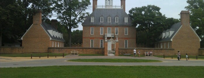 Palace Green is one of Colonial Williamsburg.