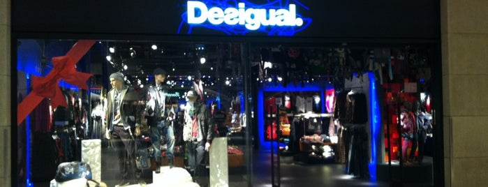 Desigual is one of Desigual stores Barcelona.