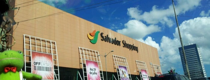 Salvador Shopping is one of DANIEL.