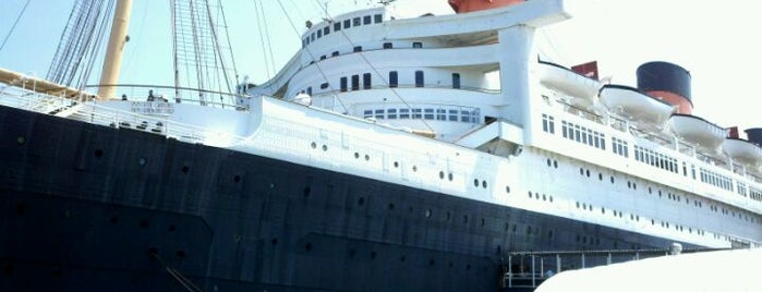 The Queen Mary is one of Best Haunts and Scares In United States-Halloween.