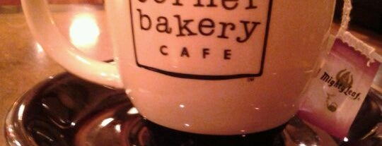 Corner Bakery Cafe is one of The norm.