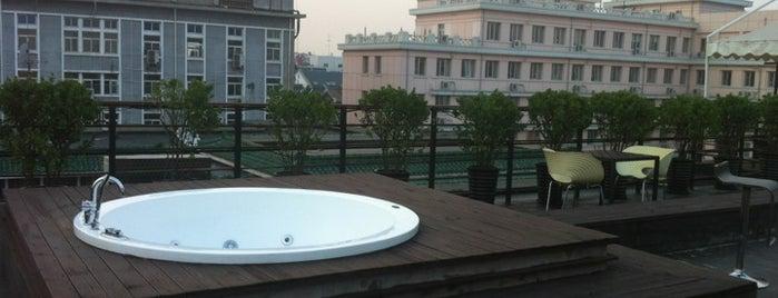 The Emperor Hotel is one of 36 hours in...Beijing.