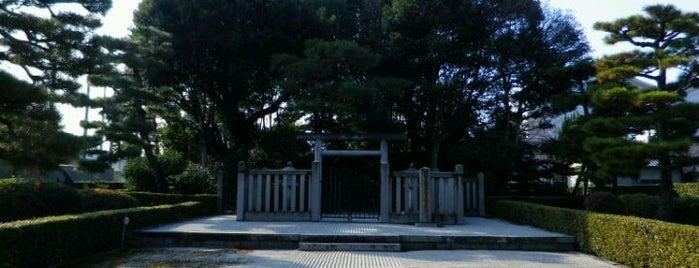 後崇光太上天皇 伏見松林院陵 is one of 天皇陵.