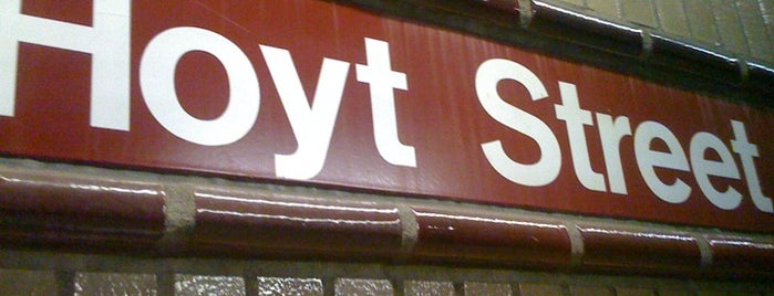 MTA Subway - Hoyt St (2/3) is one of Subway Stations.