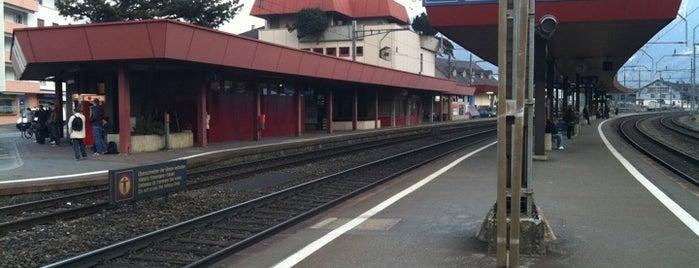 Bahnhof Schwyz is one of Covered Control.