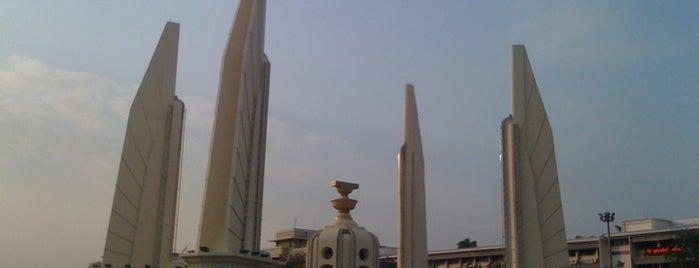 Democracy Monument is one of Around Bangkok | ตะลอนทัวร์รอบกรุงฯ.