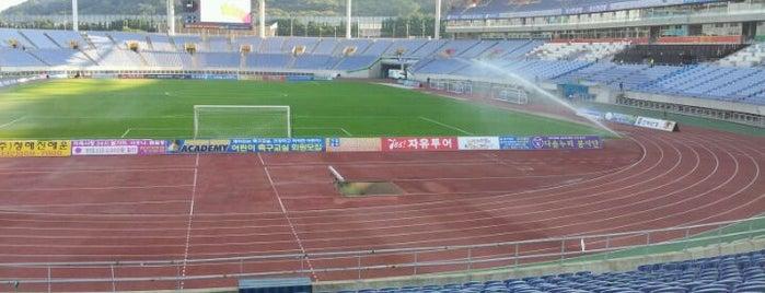 Incheon Munhak Stadium is one of Swarming Places in S.Korea.