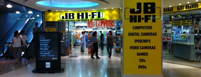 JB Hi-Fi is one of Favourites.