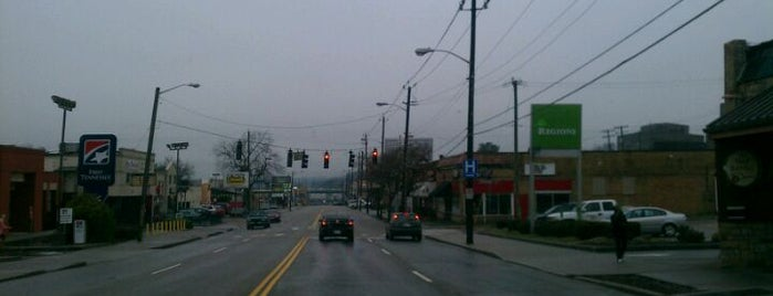 The Strip (Cumberland Ave.) is one of UT Vols Must See!.