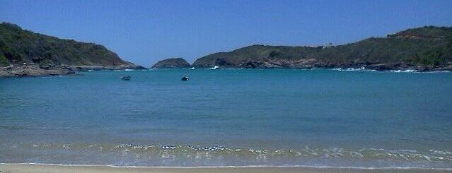 Praia do Forno is one of Região dos Lagos.