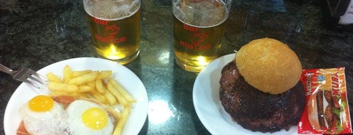 Bar Marce is one of Comer bien.