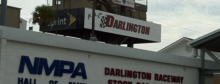 Darlington Raceway is one of Great Sport Locations Across United States.