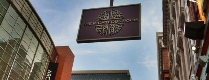 Righteous Room is one of Cincinnati Beer Geek.