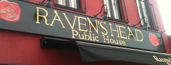 Raven's Head Public House is one of USA NYC QNS Astoria.