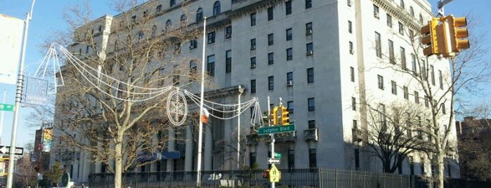 Queens County Supreme Court is one of NYC Percent for Art.